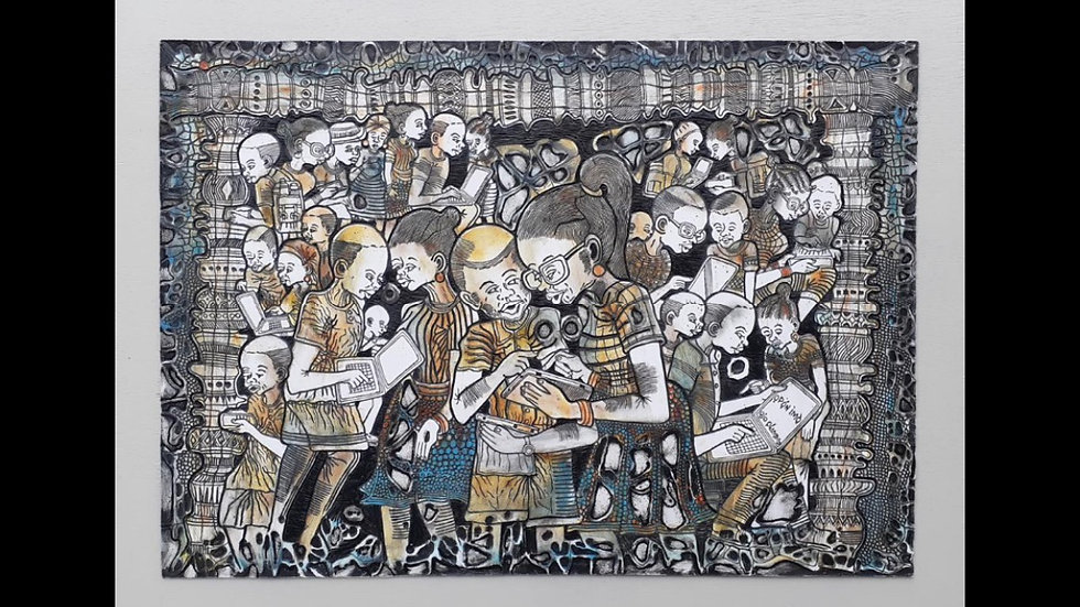 Opon Imo (Tray of knowledge) by Olaniyi Ojo