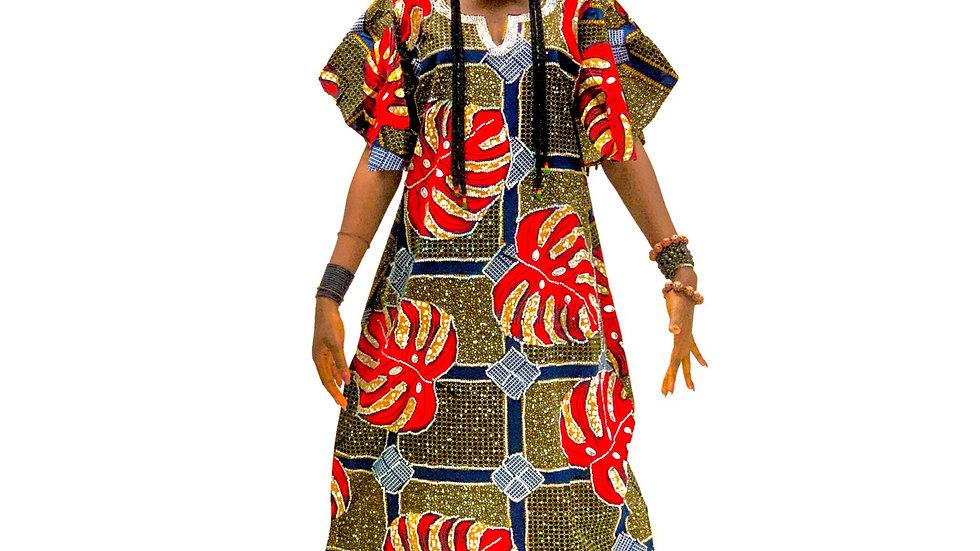 African Ankara stone wear