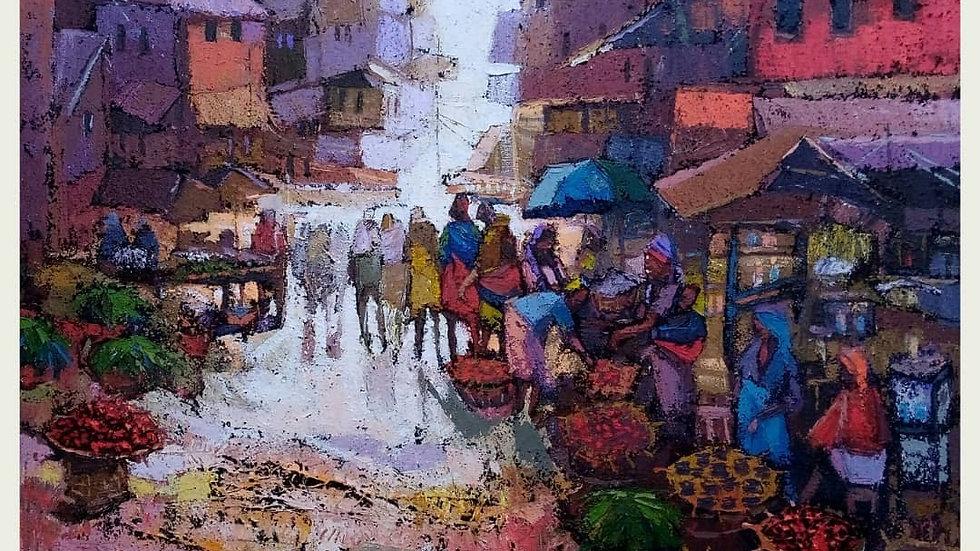 Market day by Ogunnusi Dolapo