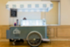 homemade gelato in our new mobile cart for weddings or any event