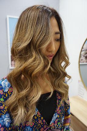 Balayage Hair extensions, balayage, Blon
