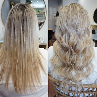 Platinum Tape Hair extensions