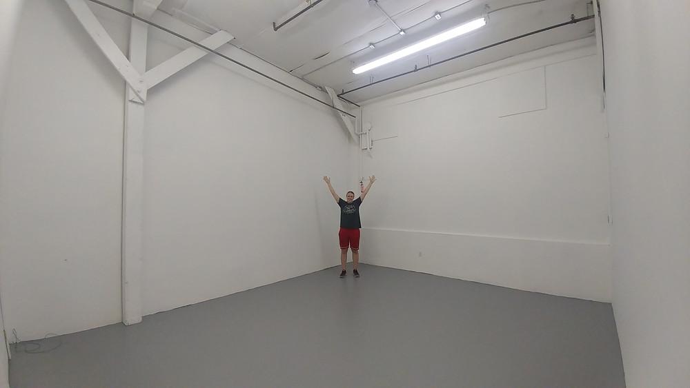 the new studio!