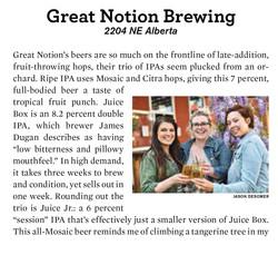 Mercury - Great Notion Brewery