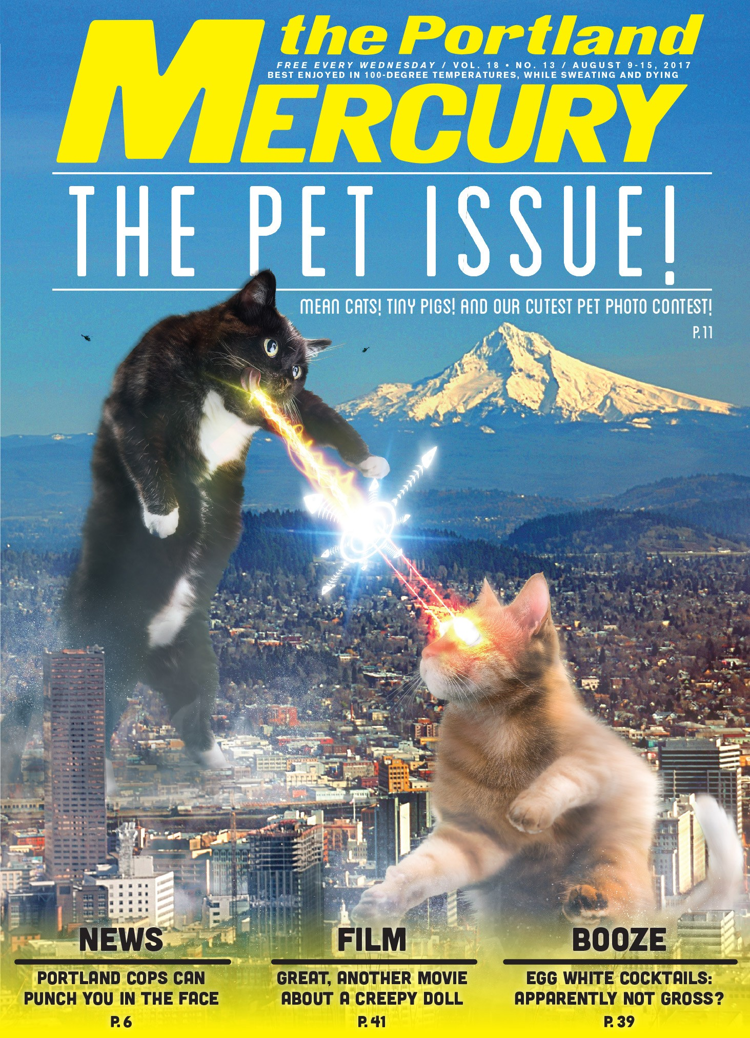 Portland Mercury Cover