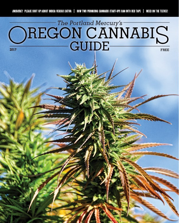 Oregon Cannabis Guide Cover