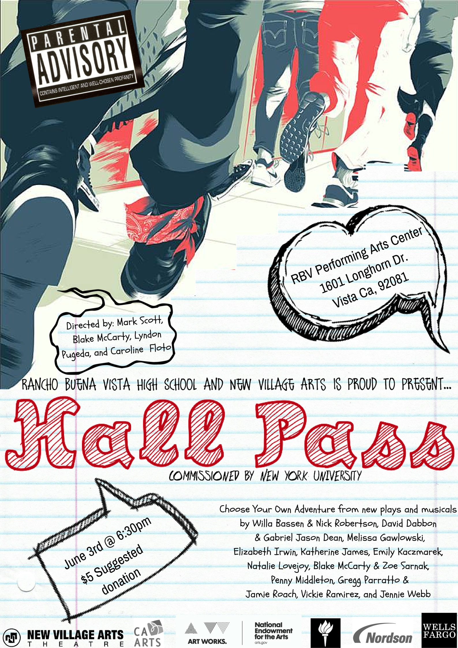 Hall Pass flyer