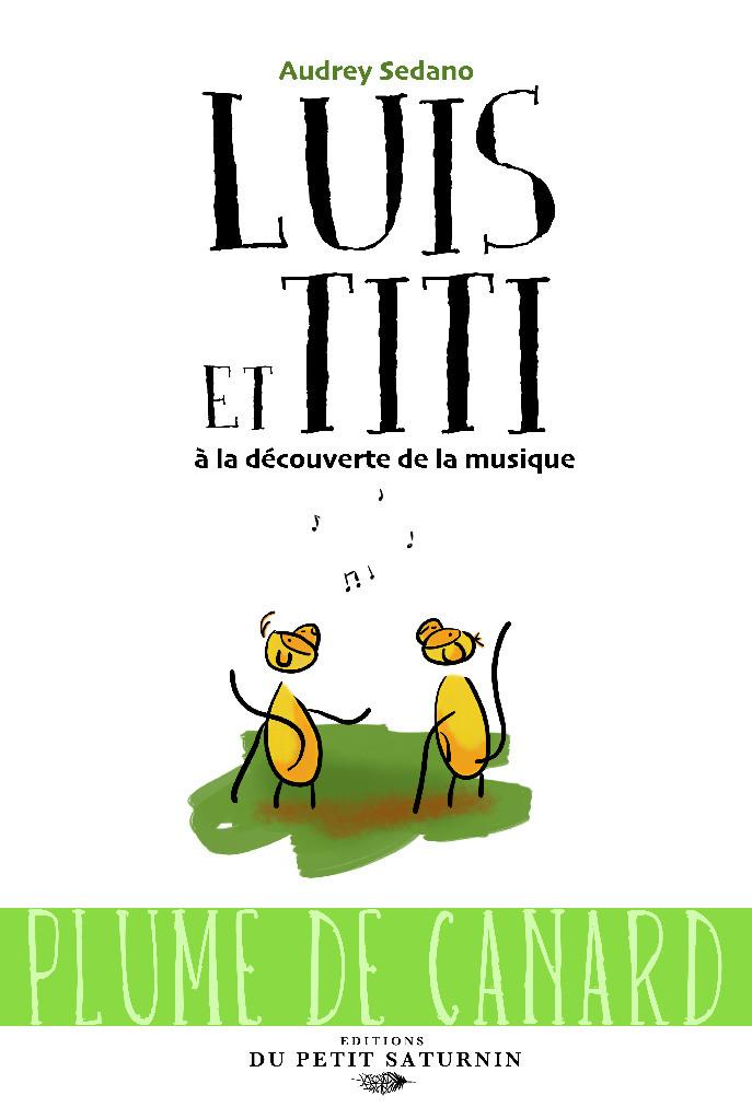 Couverture Luis et Titi et la musique