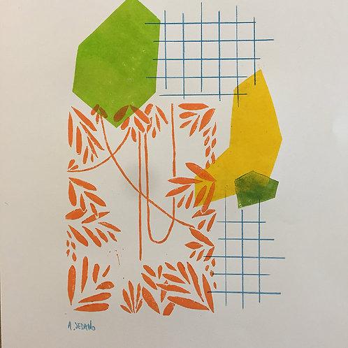 Abstrait Jungle 1