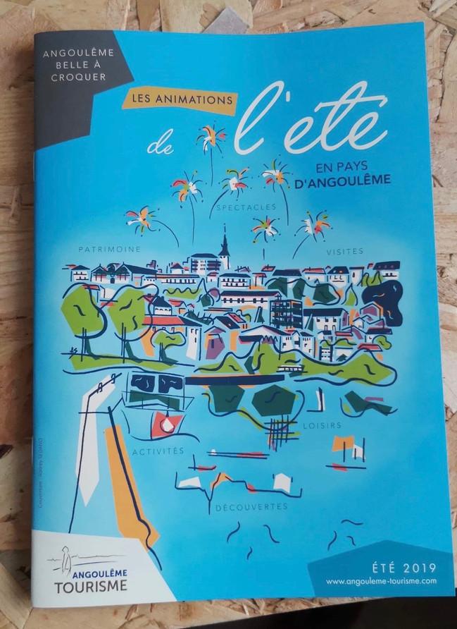 Couverture Magazine de l'été