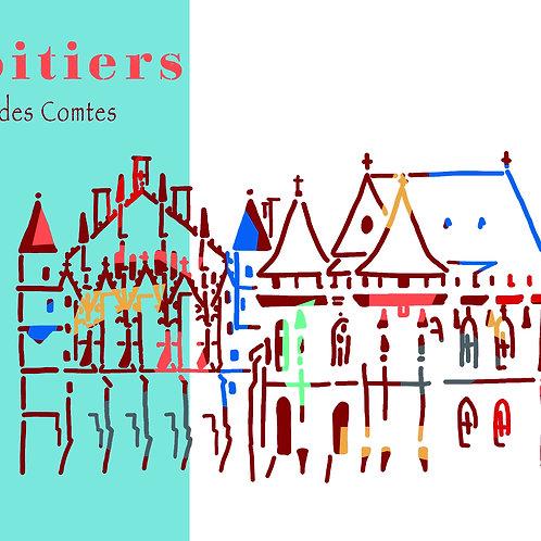 Poitiers - Palais des comtes