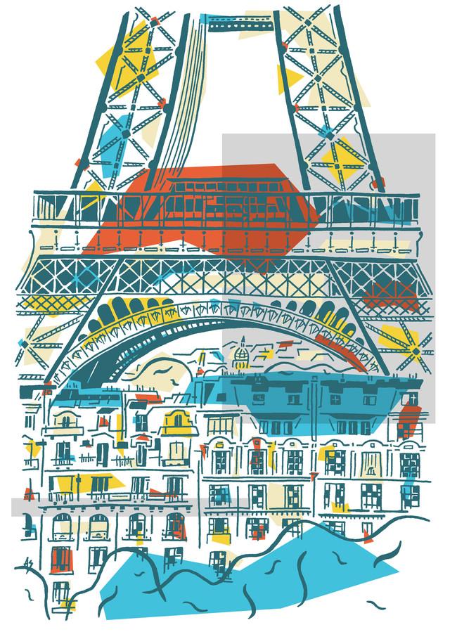 Eiffel augmentée - Jour