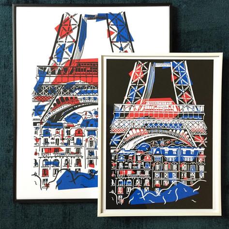 Eiffel Jour / Nuit