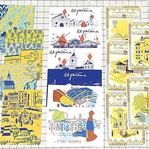 Cartes postales Angoulême Augmentee