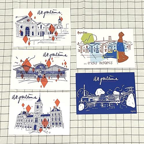 Cartes postales Angoulême Losanges