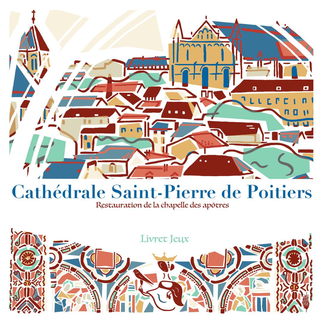 Couverture Livret Cathédrale de Poitiers