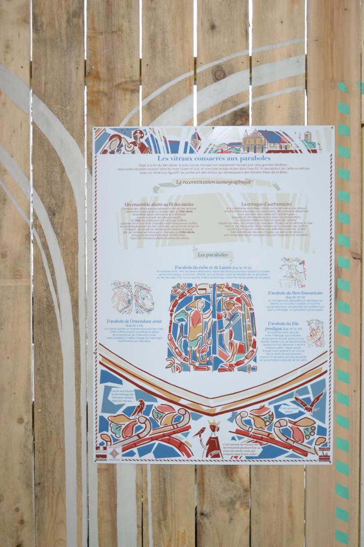Habillage Cathédrale de Poitiers