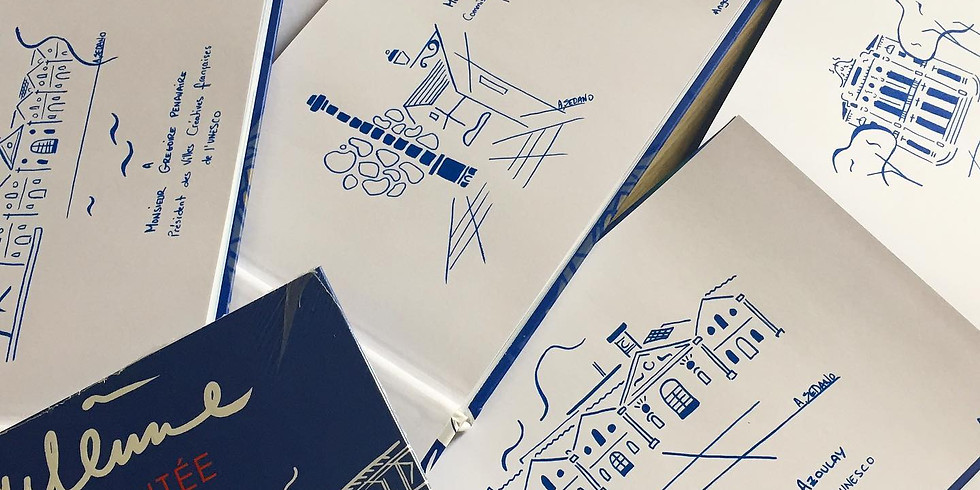 Atelier Dessine ta ville - Angoulême augmentée