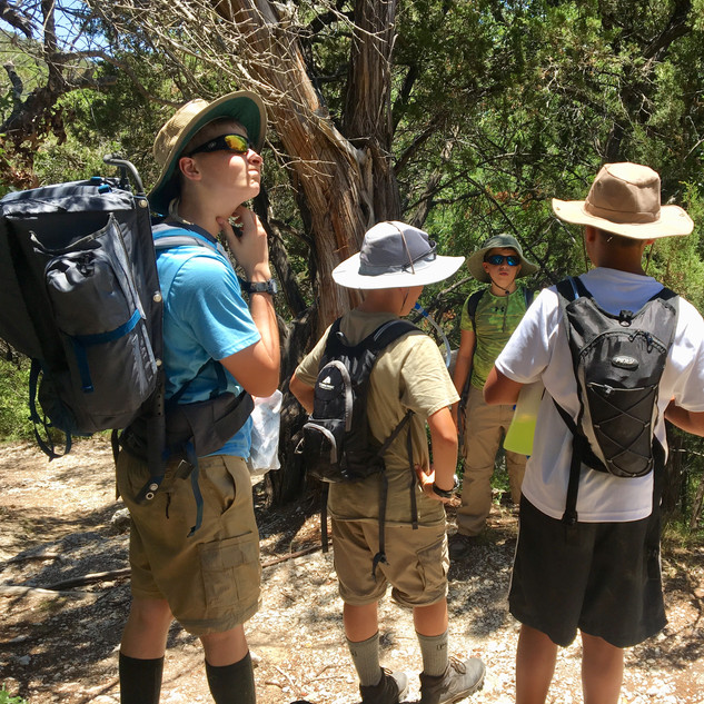 Squad STX Tactical Camping for Boys - orienteering