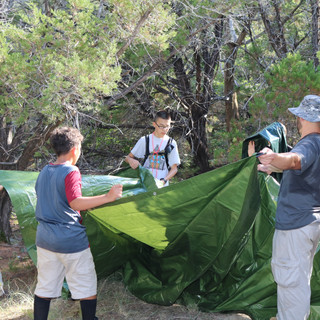 Squad STX Tactical Camping for Boys - campsite planning