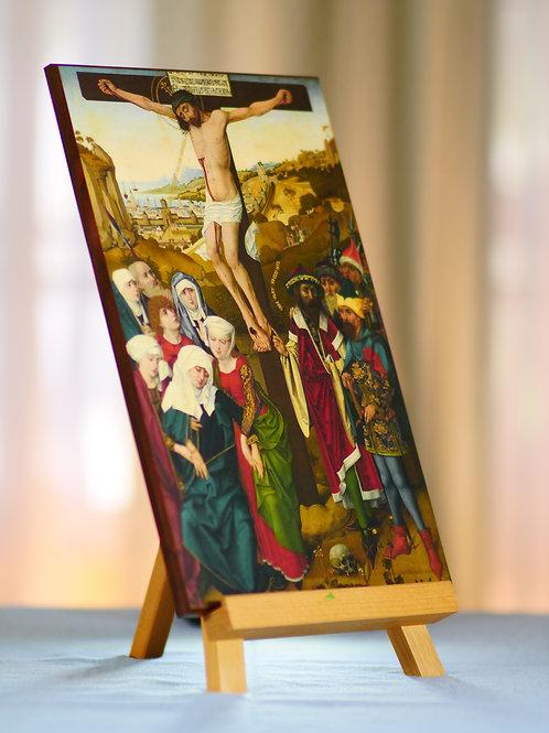 The Crucifixion- Hans Pleydenwurff