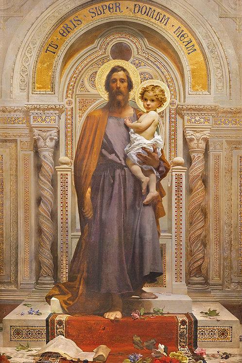St. Joseph - Fresco in Sacro Monte della Beata Vergine del Soccorso