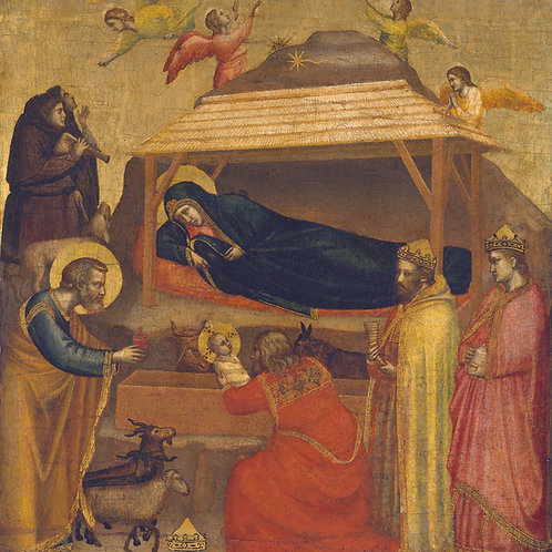 Adoration of the Magi Plaque-mount - Giotto