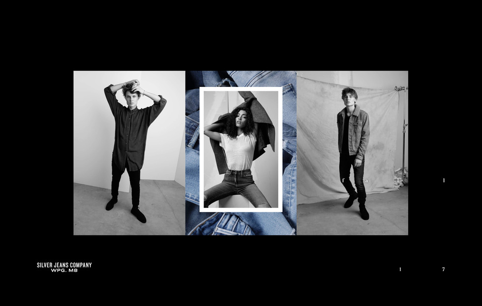 F17 Silver Jeans 'For Us' Lookbook