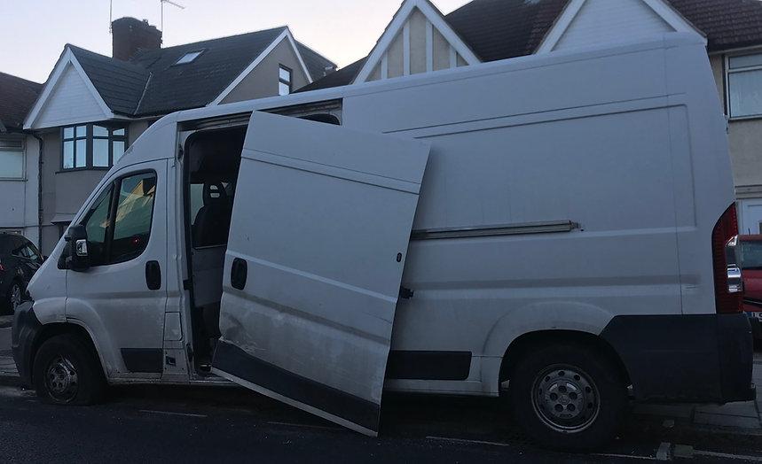 Van alarm van security stolen van theft