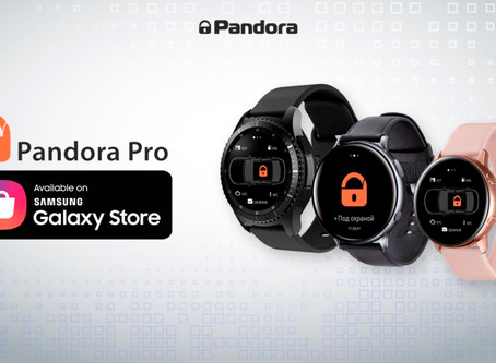 Samsung Android watch Pandora Online App update