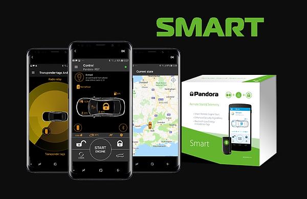 Pandora smart  - car alarm security syst