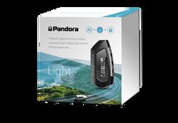 Pandora Light car alarm with long range pager