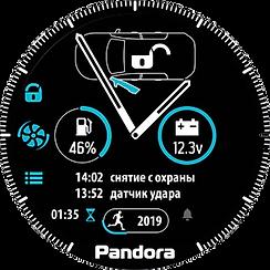 pandora car alarms watch2 smartwatch rem