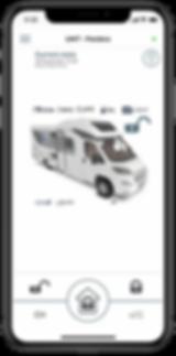 pandora camper screen shot iphone car al