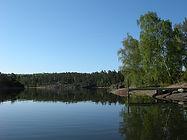 Kasvik 45 bridge seen from the water