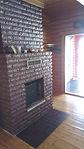 Orrfjärd cottage fireplace