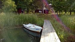 Orrfjärd cottage bridge