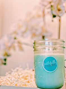 Newest Faithfully Creative Summer Candle