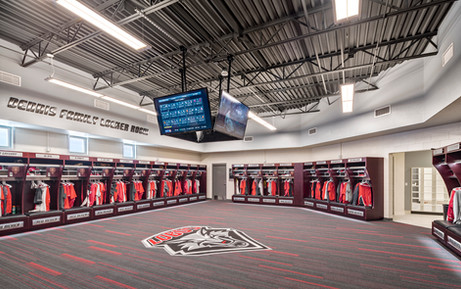UNM BASEBALL - R.D. & JOAN DALE HUBBARD - LOCKER ROOM