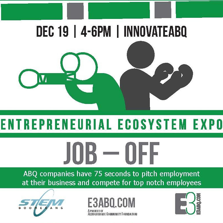 (V) Job-Off | Presented by E3 and STEM Boomerang