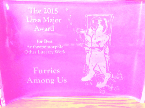Ursa Major Award...at last!