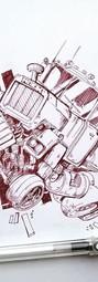 eric-toubal-truck_art_crazycars_petrolhe