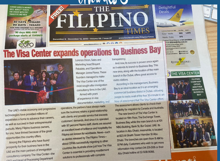 The Visa Center expands operations to Business Bay