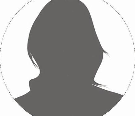 Generic Female headshot 2X2 circle - Gra