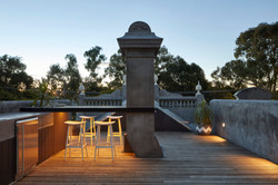 Fitzroy North House Deck & Chimney