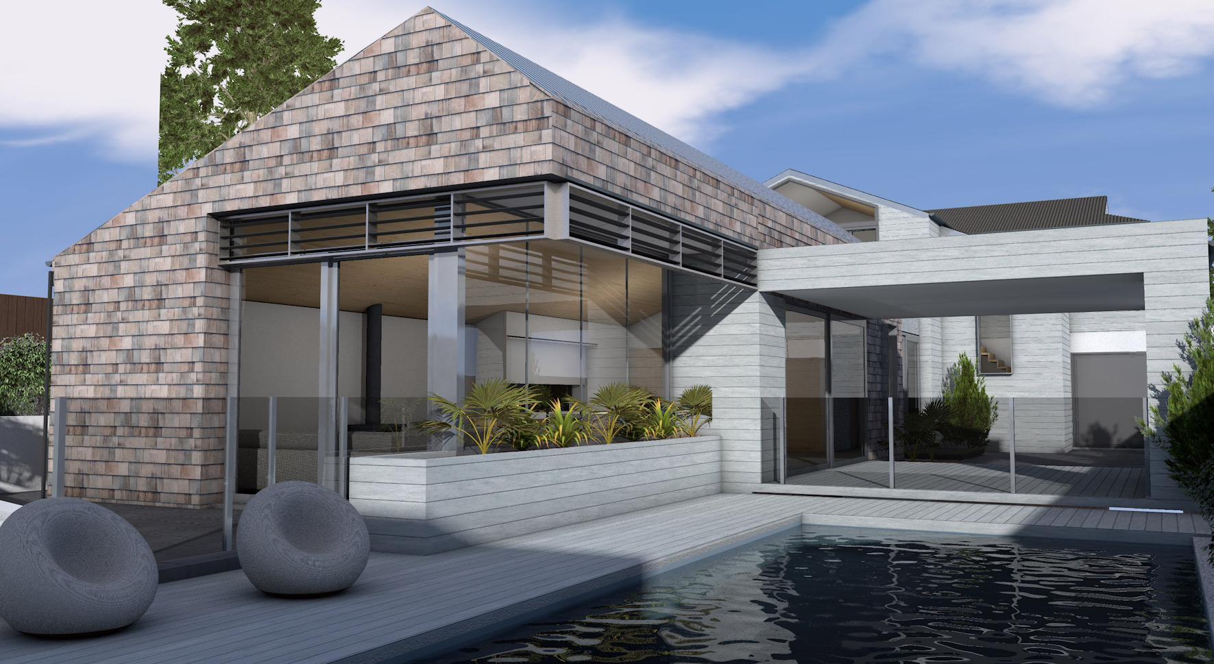 MMAD Architecture_Sorrento House_3D3