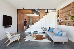 Fitzroy North House Living & Stair