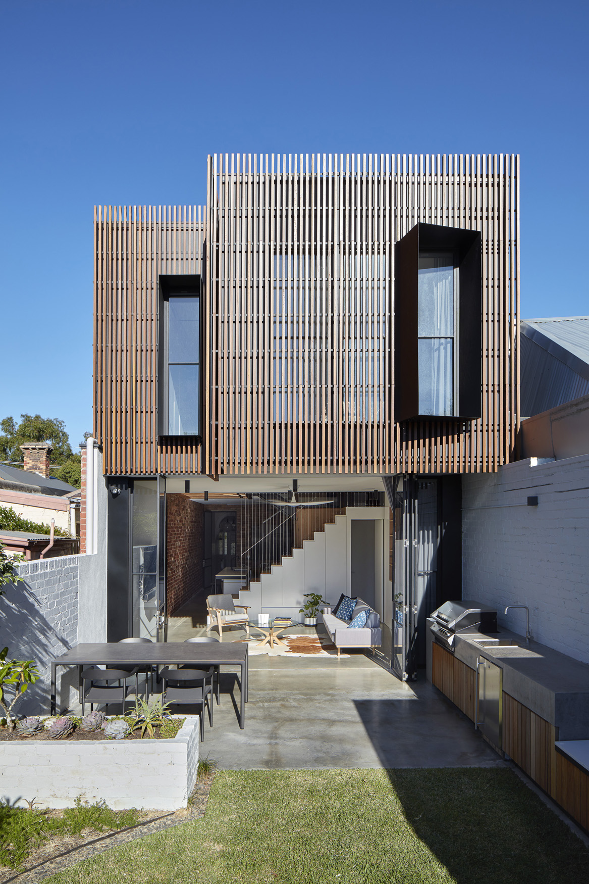 Fitzroy North House Rear Facade 01