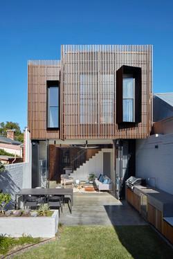 Fitzroy North House Rear Facade 01