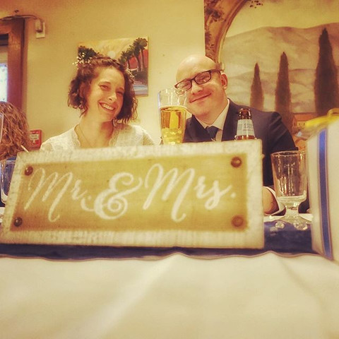 Congratulations to this happy couple! T